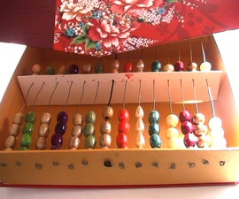 How to Make a Abacus from Cardboard