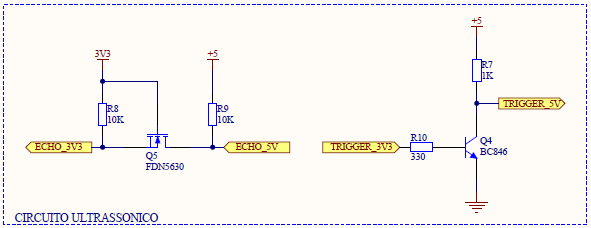 Picture of Connecting Ultrasonic Sensor