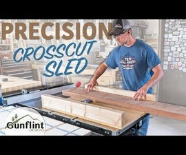 Table Saw Crosscut Sled - Simple & Precise