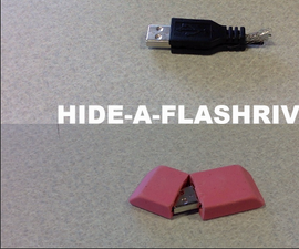 Hide-a-flashdrive