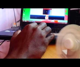 Speed control of dc motor from laptop using arduino and processing
