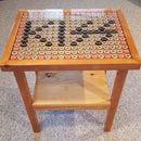 KISS Resin Bottle Cap End Table