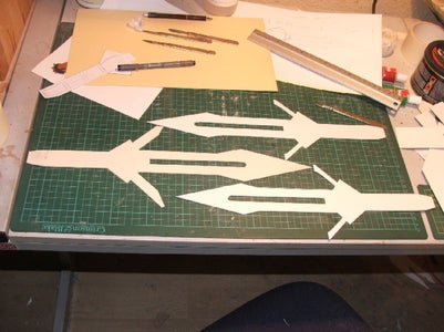 Construction of the Blade