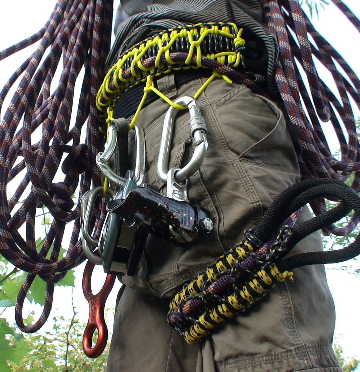 Picture of DIY Harness for Climbing