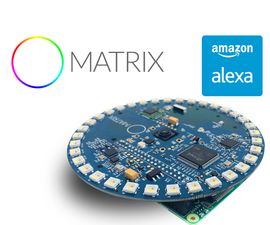 "Build DIY Amazon Alexa With a MATRIX Creator on ""Hands-free"" Mode"
