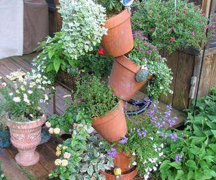 Tipsy Pots Tower Planter