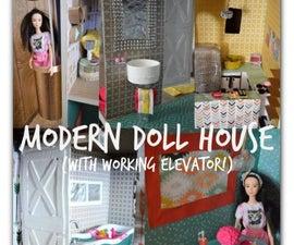 Trash to Treasure Barbie Dream House