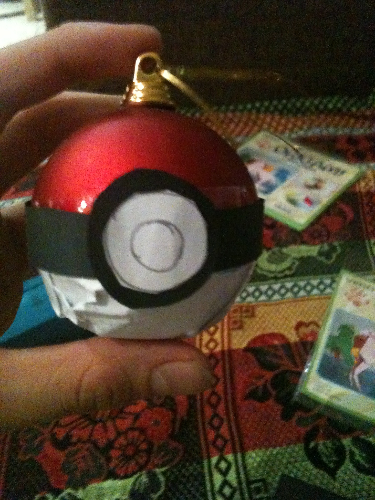 Picture of Turn a Christmas Ball Into a Pokéball
