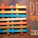 DIY Popsicle Stick Coaster