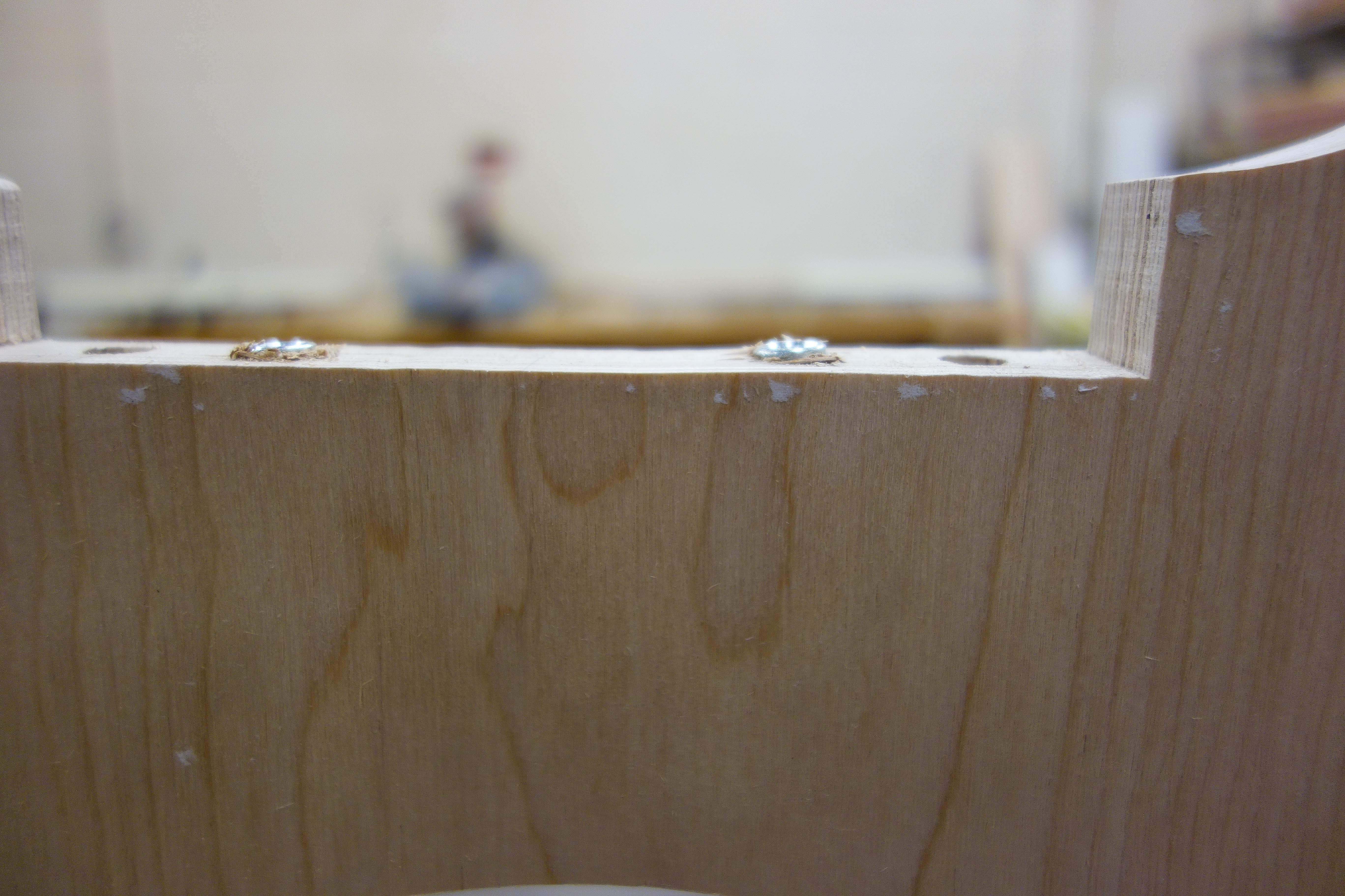 Picture of Drilling Holes and Finishing the Seat