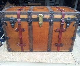 Restoring A Vintage Steamer Trunk
