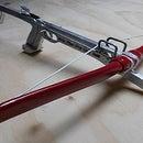 Cast Aluminum Self Cocking Crossbow Pistol