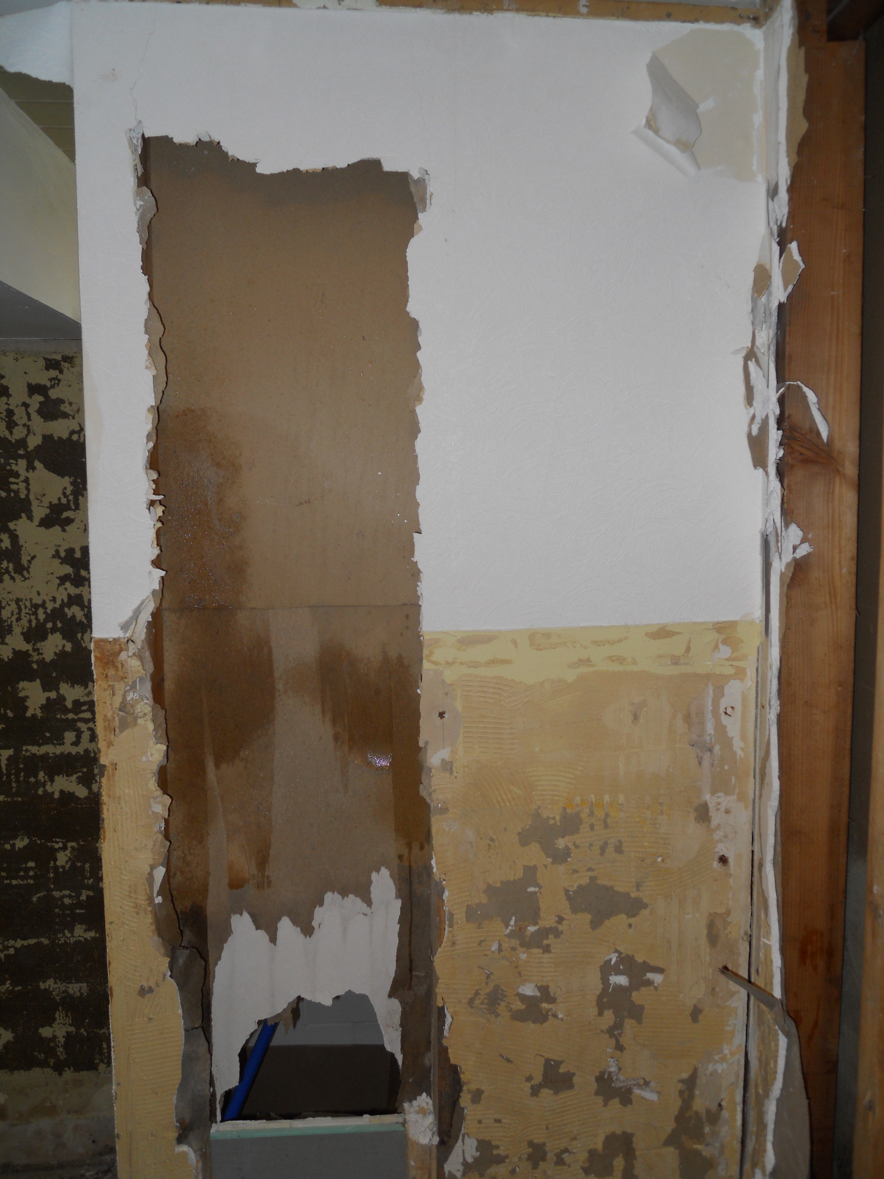Picture of Removing the Dry Wall