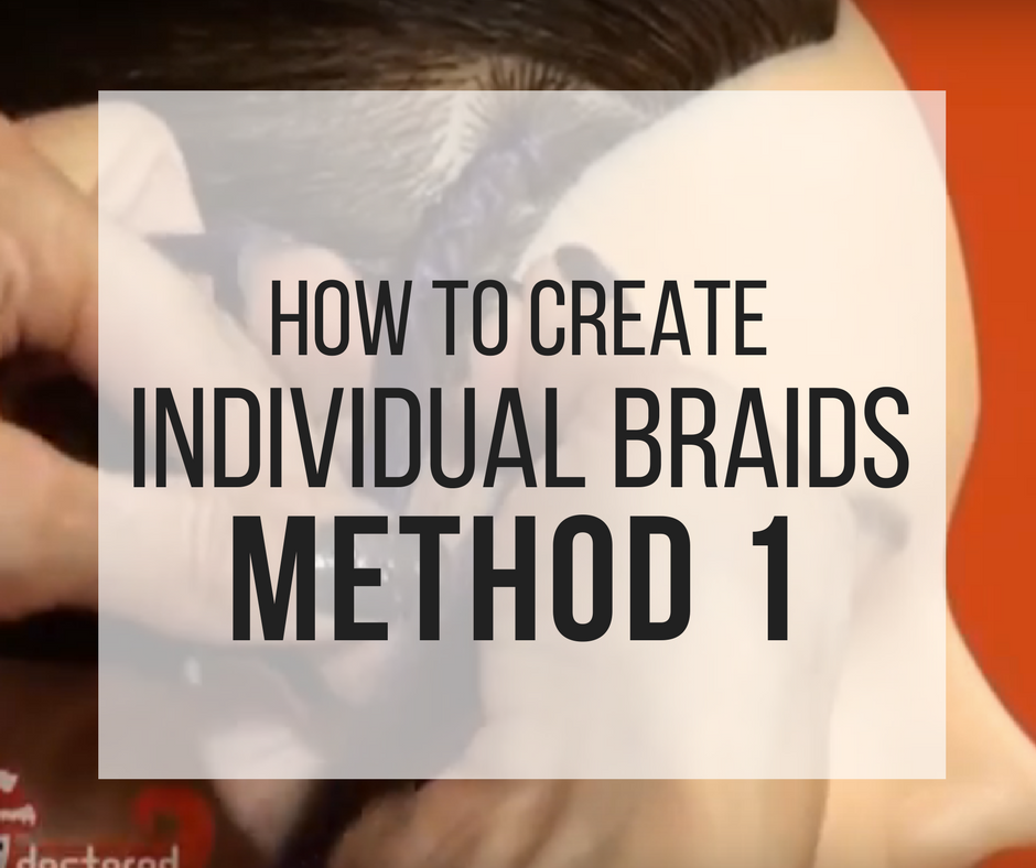 Picture of How to Create Individual Braids Method 1