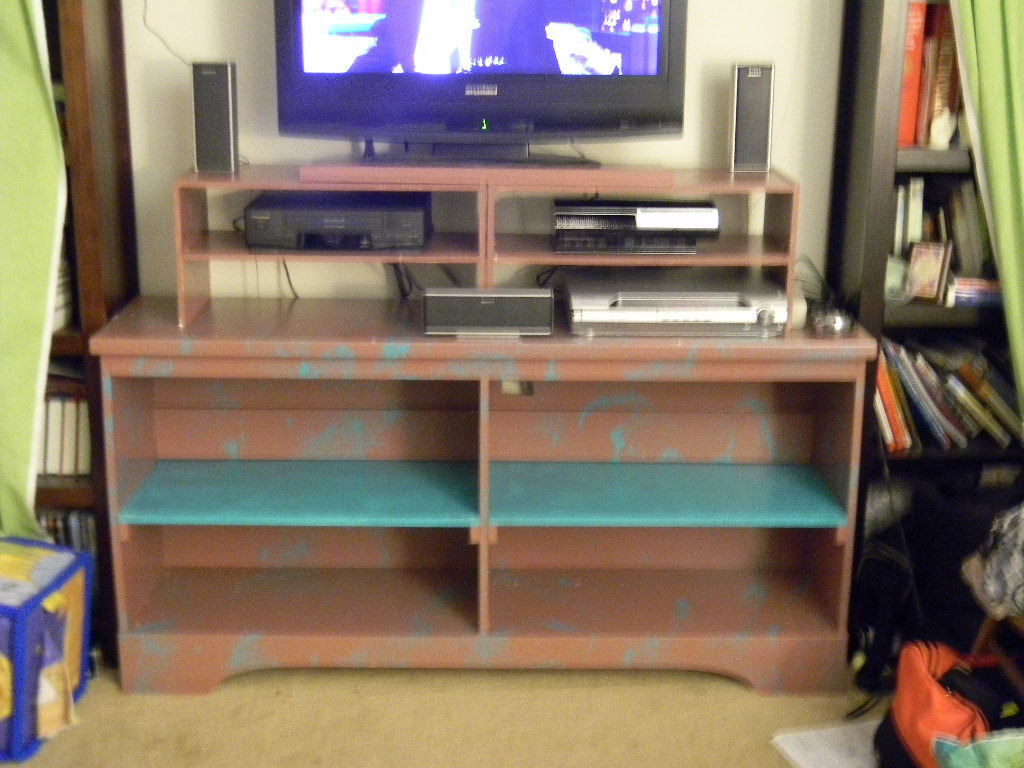 Picture of Remake a Dresser Into a Snazzy Entertainment Center