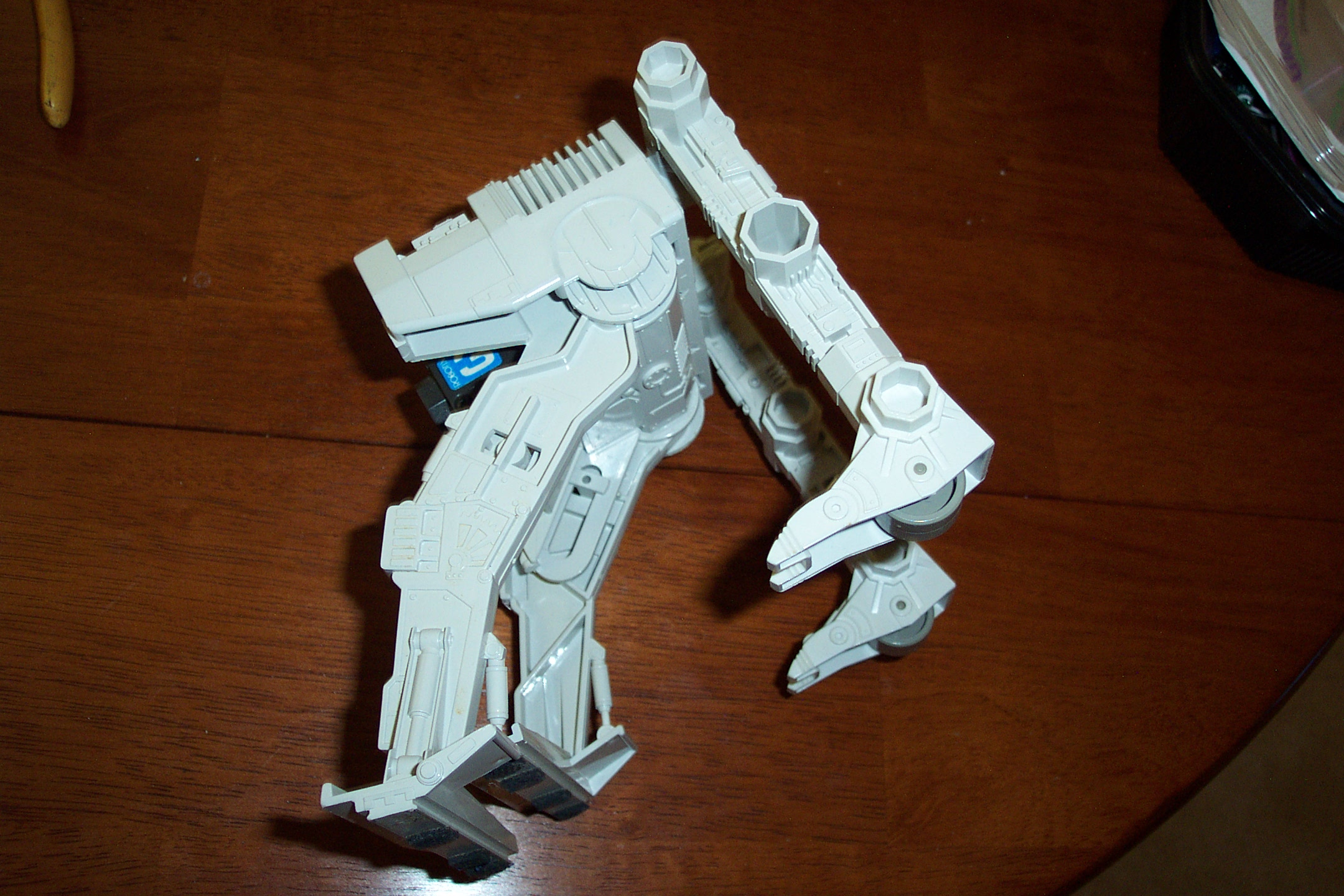 Picture of Attach the Right Leg Part to the 2 Legged Walker