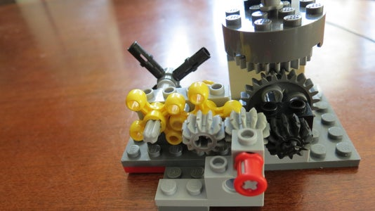 LEGO Helicopter Main & Tail Rotor Blades