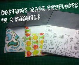 2 Minutes Custom Made Envelopes