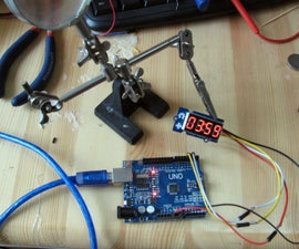 4 Digit Two Wire Display with Arduino