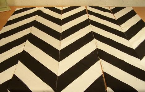 Lining Up Cut Panels