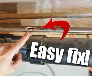 The EASIEST Way to Repair a Copper Pipe!