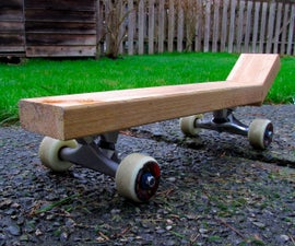 Make a Skateboard from a 2x4- an Extremely Fun (and Slightly Sketchy) Project