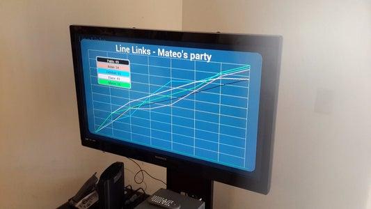 Scoreboard With Chromecast
