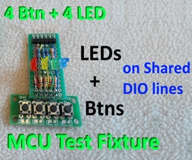 Test Any MCU Using Only 4 I/O Lines