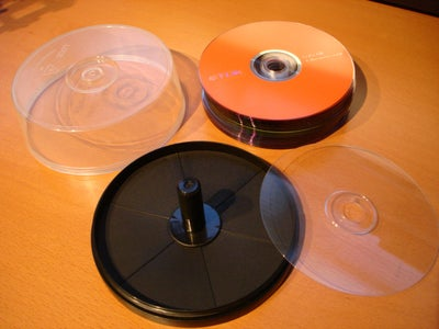 Take Apart the DVD Spindle
