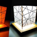 DIY Night Lamp Light Stand for Room Decor