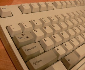 Clean your vintage IBM M2 clicky keyboard!