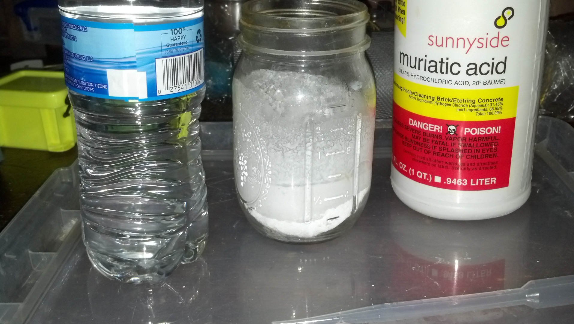 Picture of Making the Electrolyte (Deep Eutectic Solvent)