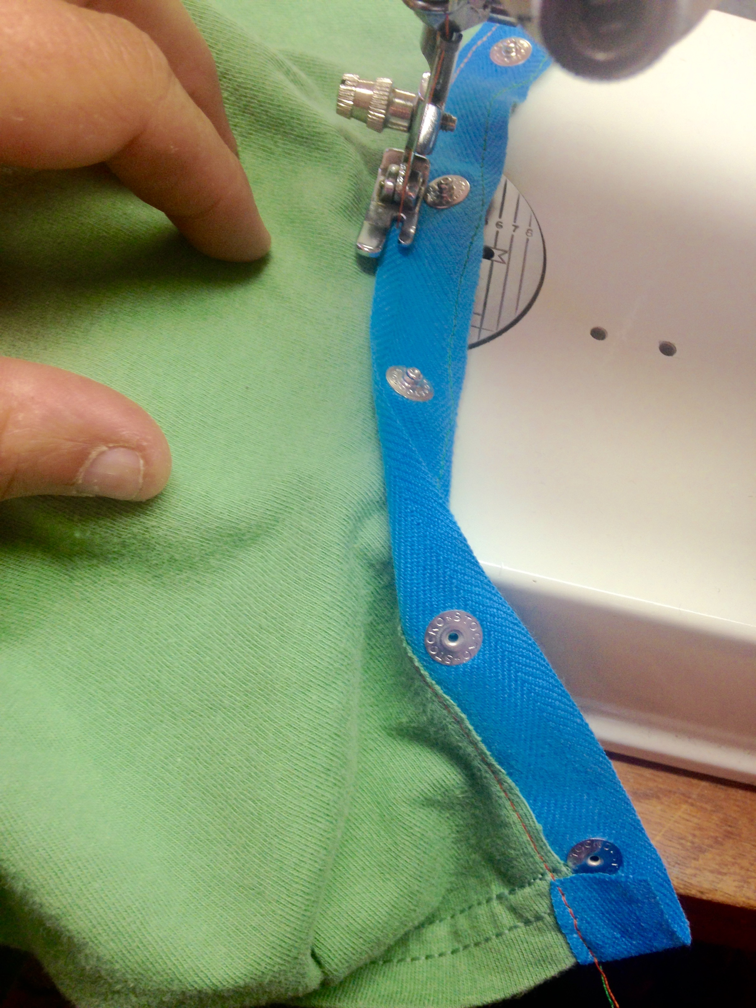 Picture of Sewing, Aka the Hardest Part...