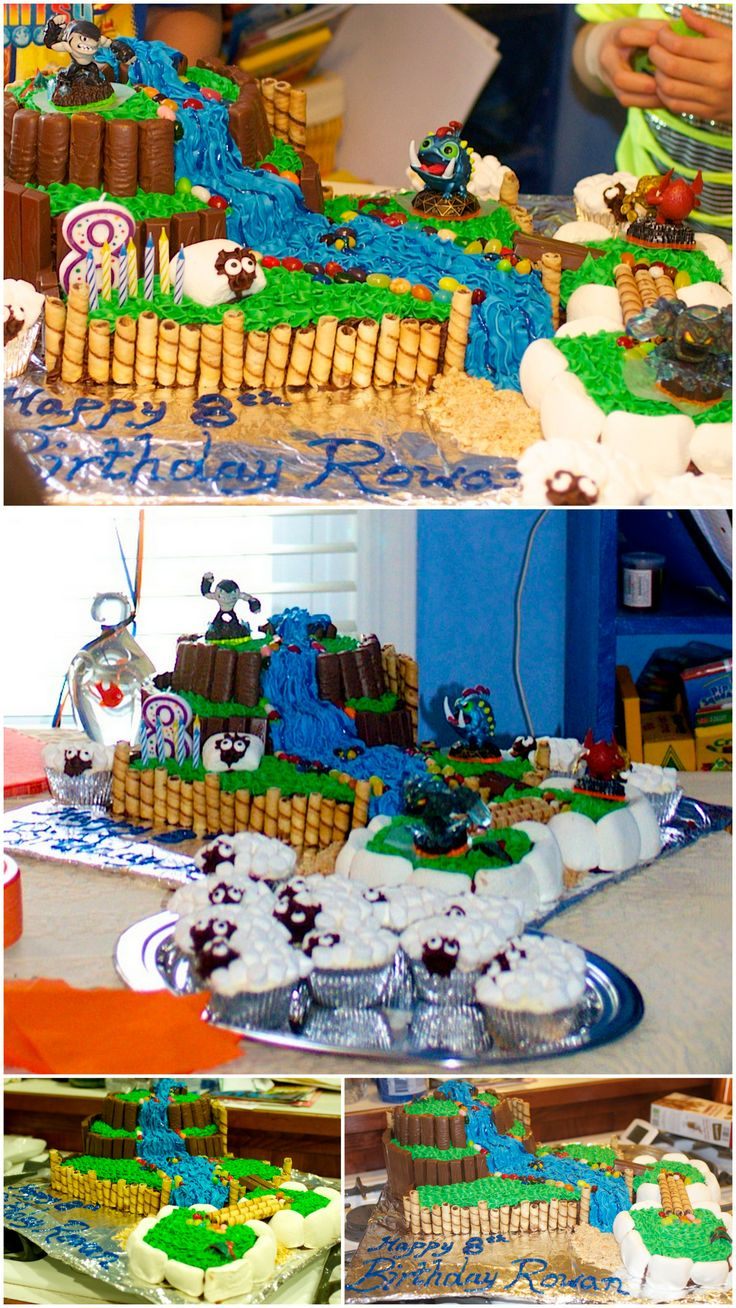 Stupendous Skylanders Birthday Cake Instructables Funny Birthday Cards Online Inifofree Goldxyz