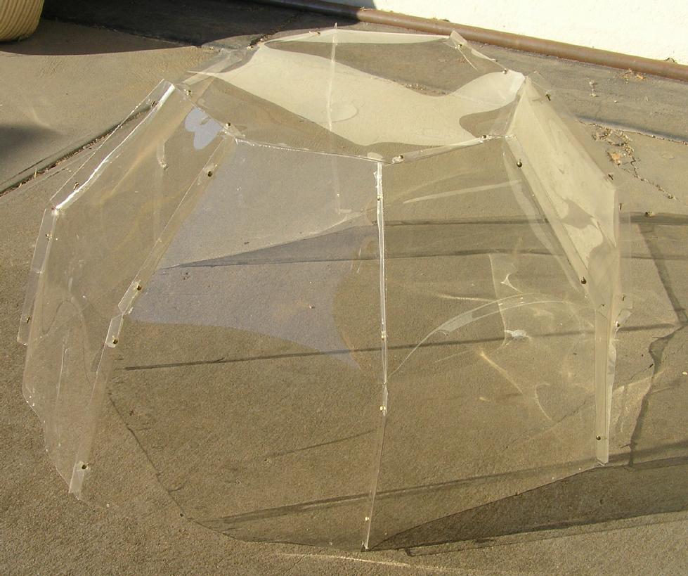 Picture of Prepare the Dome Segments