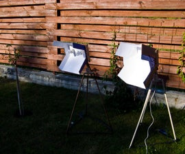 Photography lights on a budget