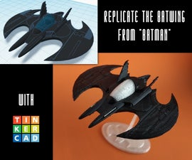 """Create the Batwing From the """"Batman"""" Movie"""