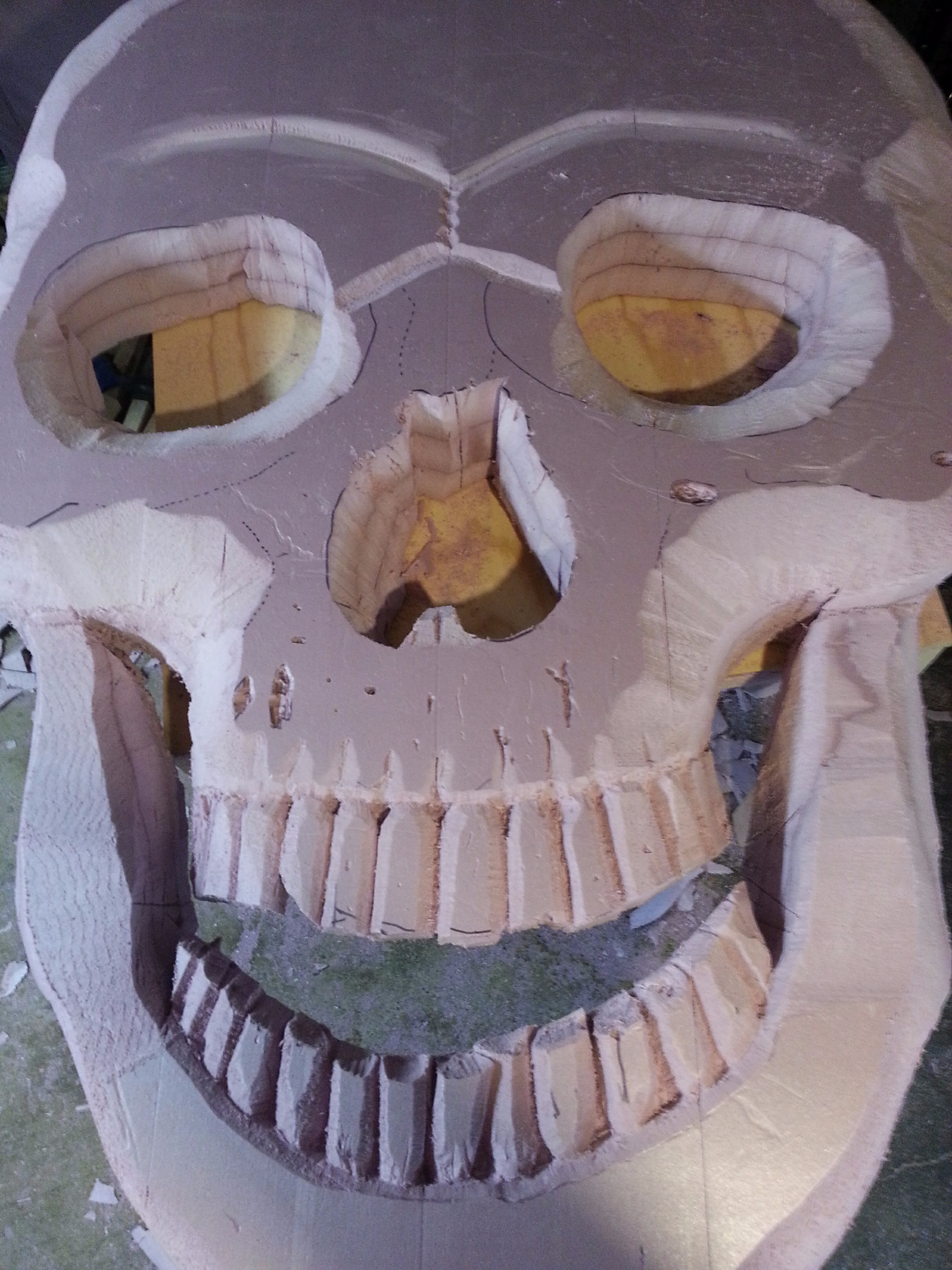 Picture of Draw and Carve the Skull