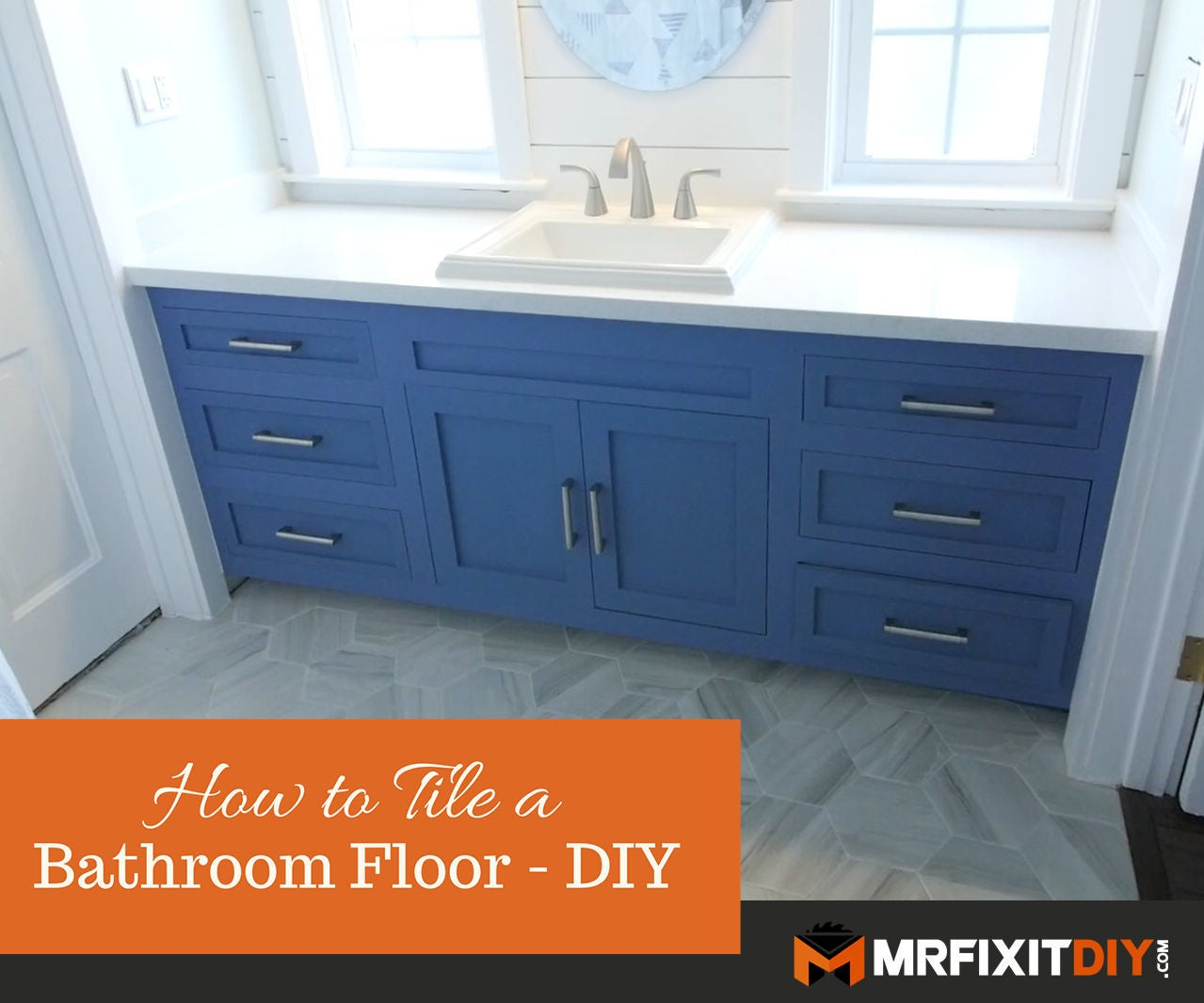 How to Tile a Bathroom Floor: 5 Steps (with Pictures)