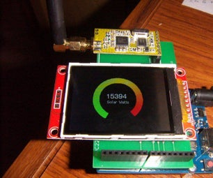 Wireless Mesh With Graphics LCD