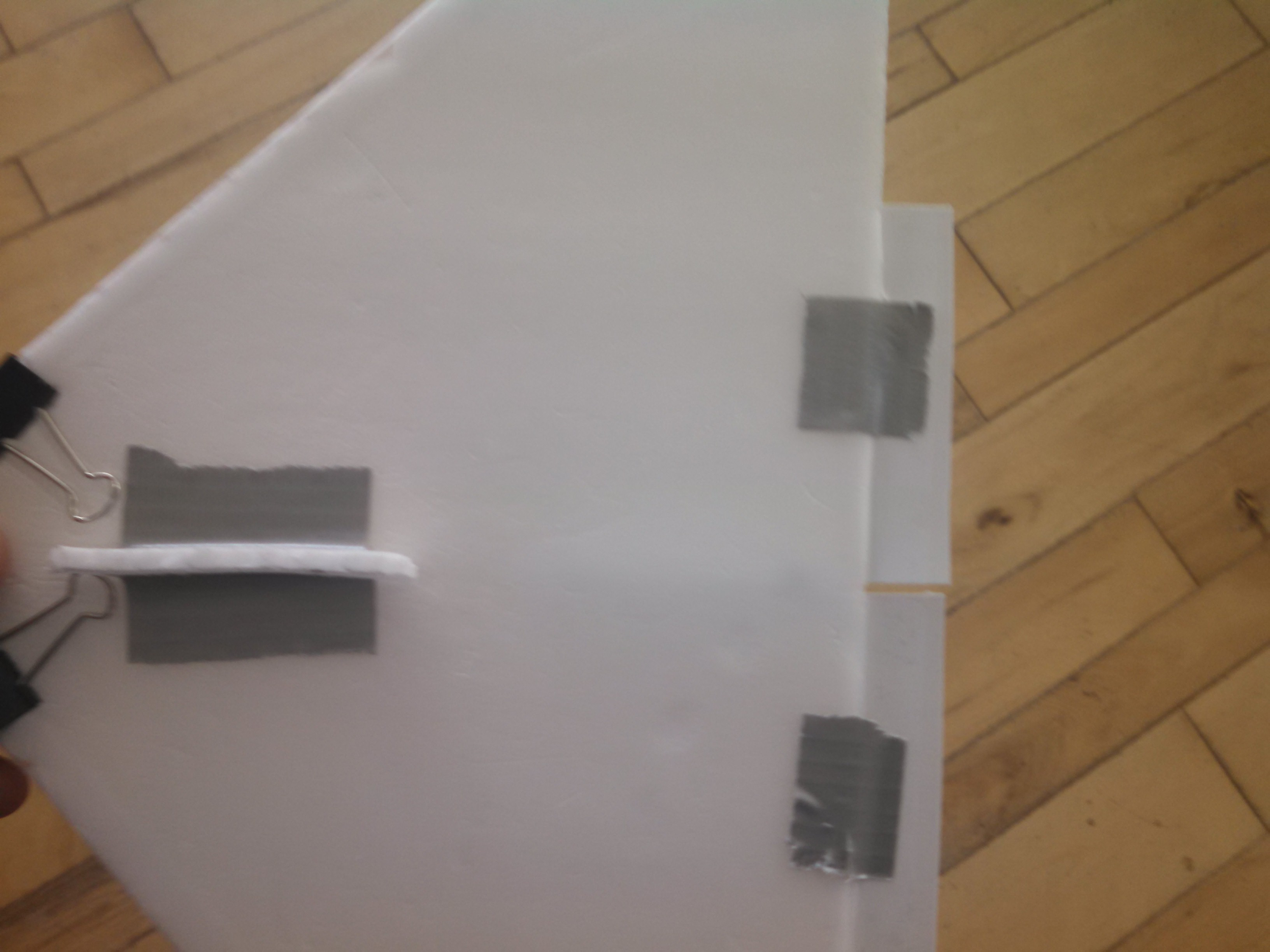 Picture of Attach Rudder and Throwing Handle to Wing
