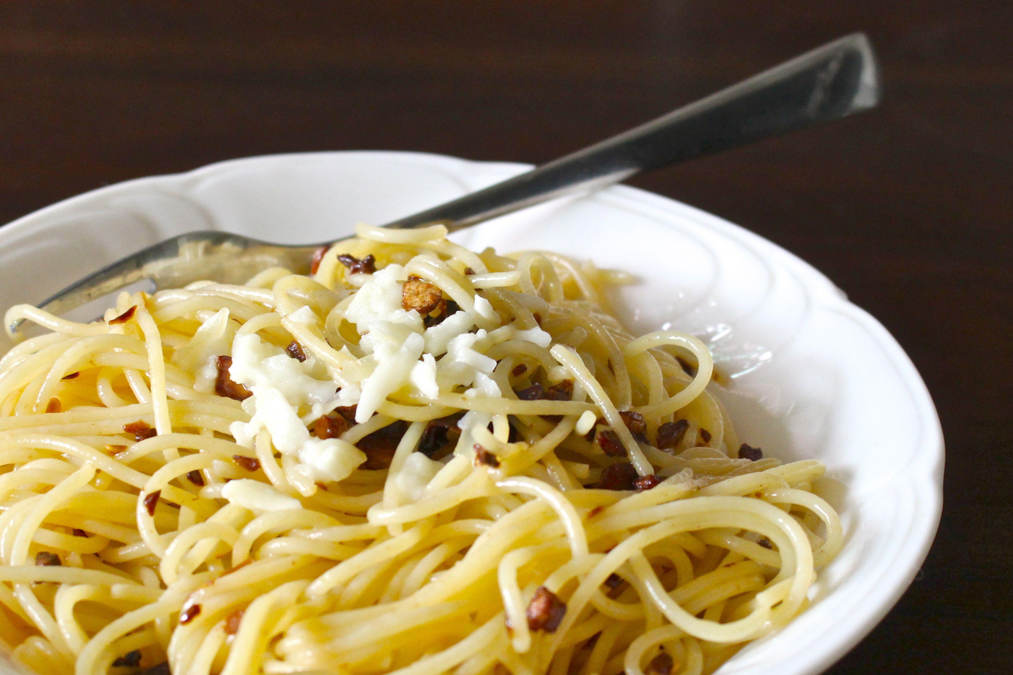 Picture of Spaghetti Aglio E Olio for One