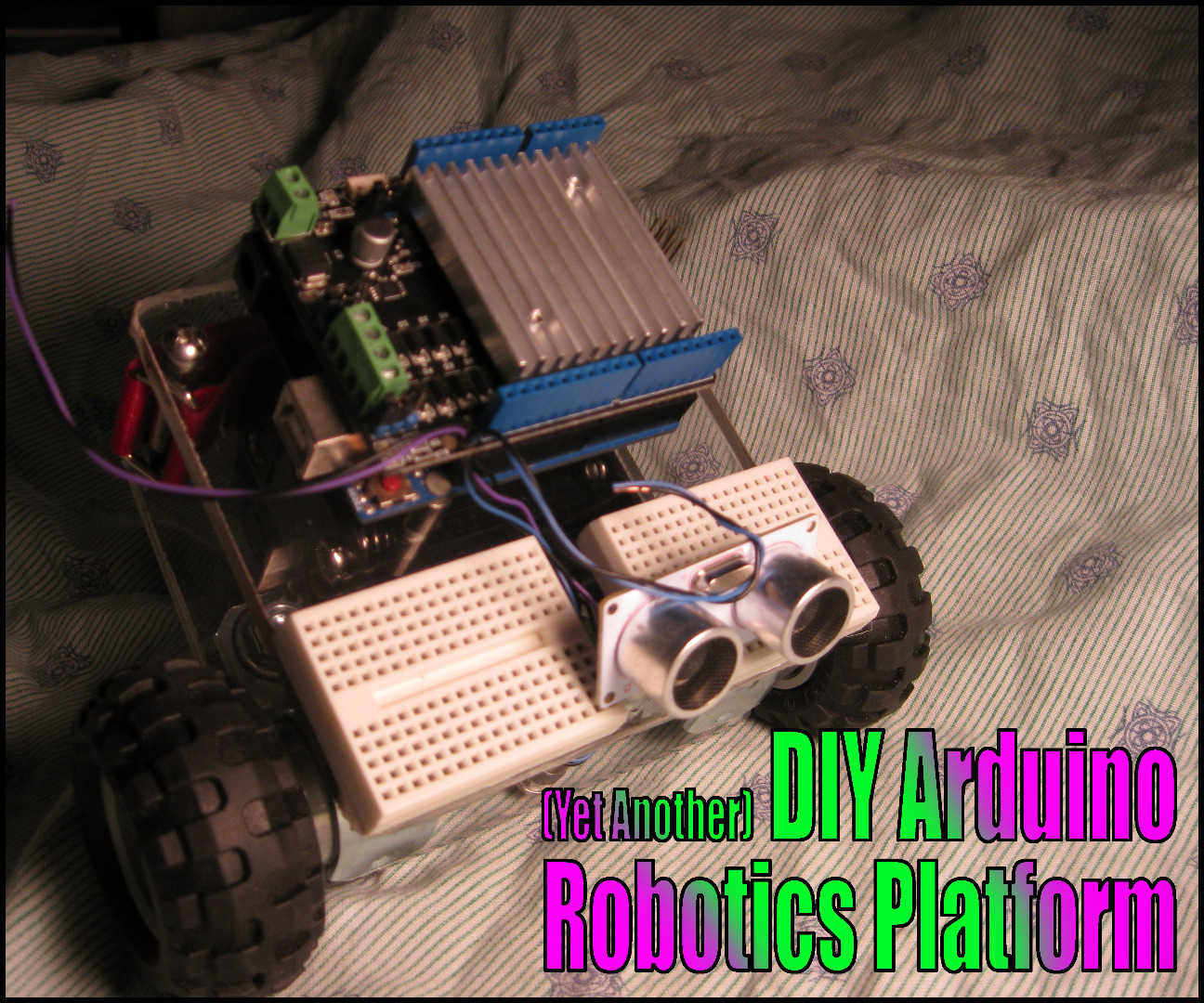 Picture of (Yet Another) DIY Arduino Robotics Platform- a Robot Chassis From Spare Parts
