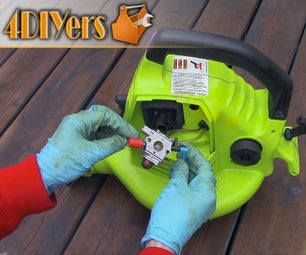How to Clean a 2 Stroke Carburetor on a Leaf Blower