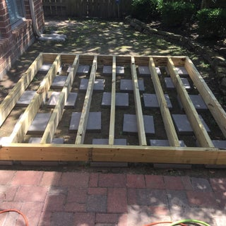 Simple Floating Deck Instructables