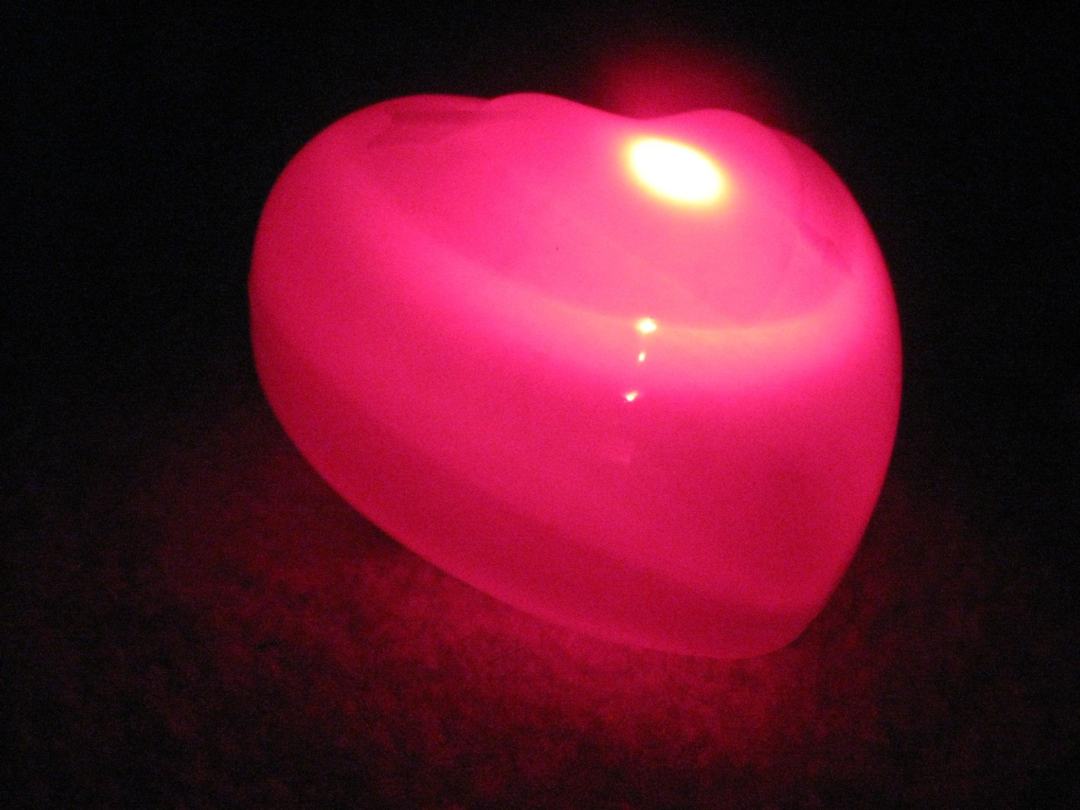 Glowing Led Heart Light  6 Steps