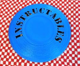 Custom Made Frisbee