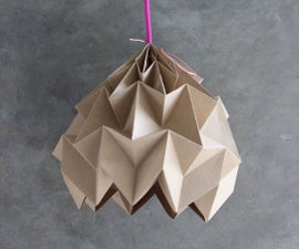 DIY – Origami Magic Ball Lamp