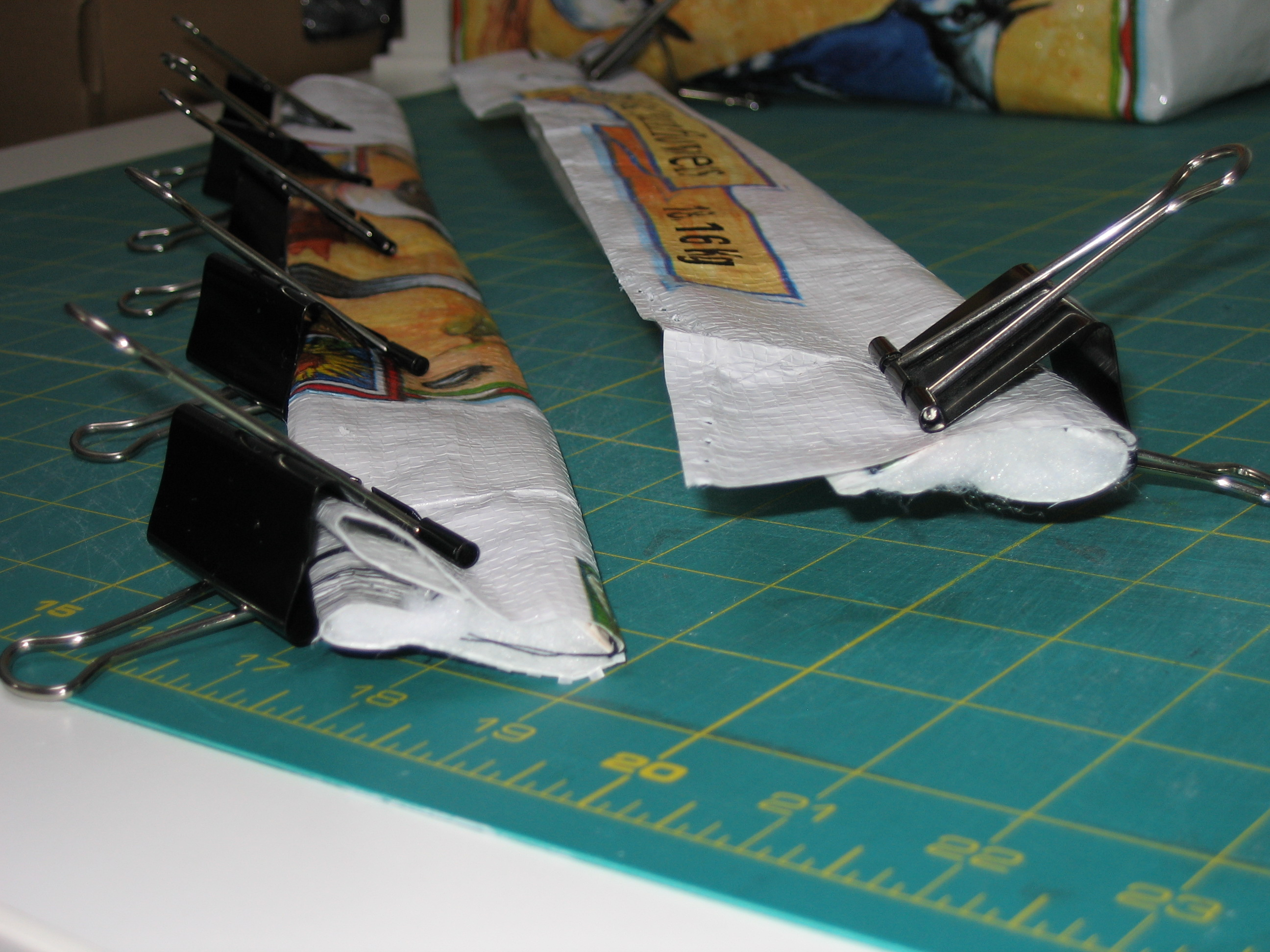 Picture of Sewing the Handles...