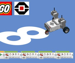 EV3 Tricycle Figure 8 Rider
